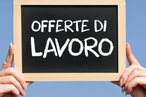 Offerte di Lavoro – 29.05.2017