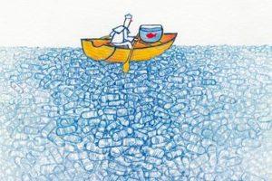 Mare inquinato: Diego Herrera, Plastic Bottles, aprile 2014