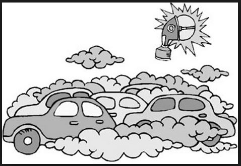 Maschere antismog: Mari Kane, Automobile Pollution, maggio 2002