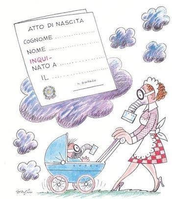 Maschere antismog Mariano Congiu, Documenti d'attualità, dicembre 2014