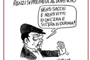 Il voto siciliano secondo Vauro