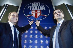 """Il simbolo di """"Udc e Noi con l'Italia"""""""