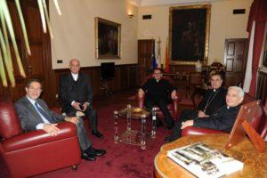 Presidenza della Conferenza Episcopale Siciliana, guidata dal Presidente, Mons. Salvatore Gristina, il 21 febbraio scorso ha incontrato il Presidente della Regione Siciliana, On. Nello Musumeci, a Palazzo d'Orleans.