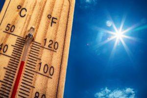 Meteo: ondate anomale di calore (livello 1) 1, 2, 3,  4 e 5 Agosto 2018